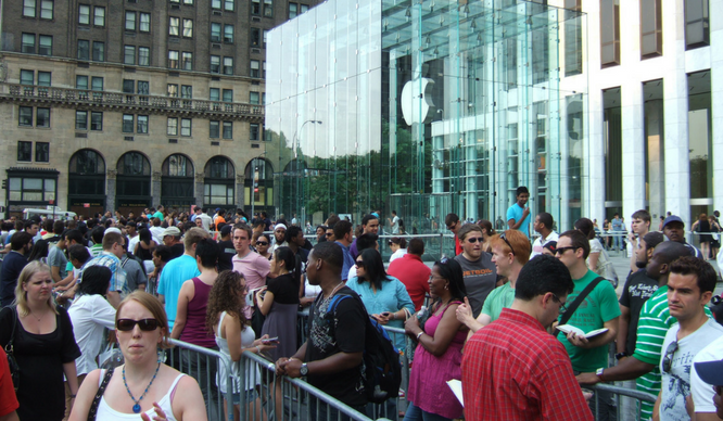 This NYer Make Once Made $14k In One Day By Waiting In Line