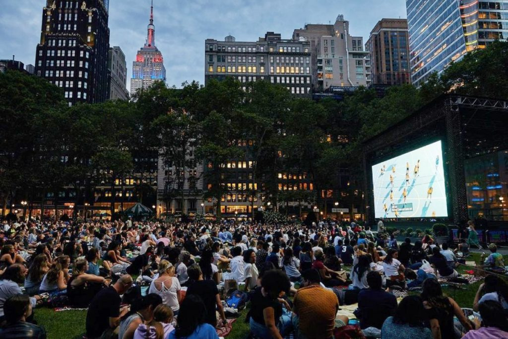 Bryant Park's Iconic Free Movie Nights Are Back For The Summer