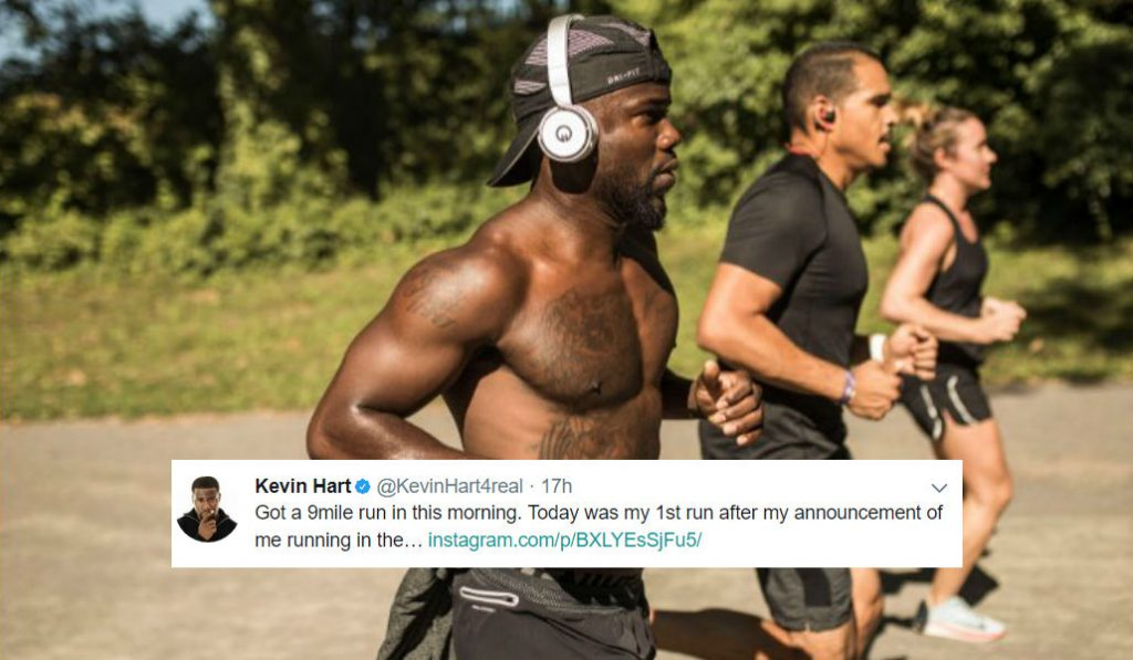 Celebrities you'll see Running the NYC Marathon this year