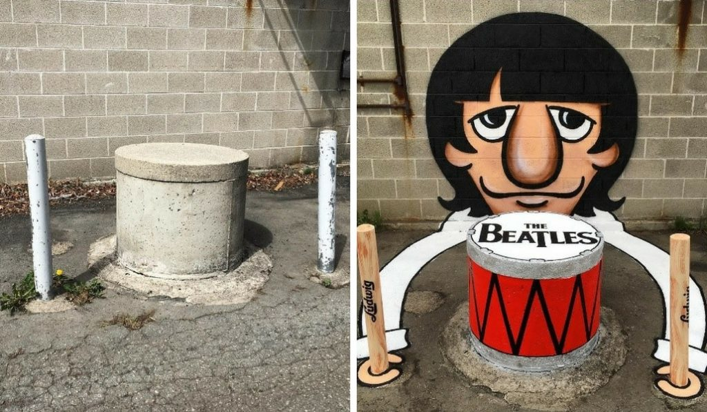 A Street Artist is turning NYC into a Colorful Cartoon Playground