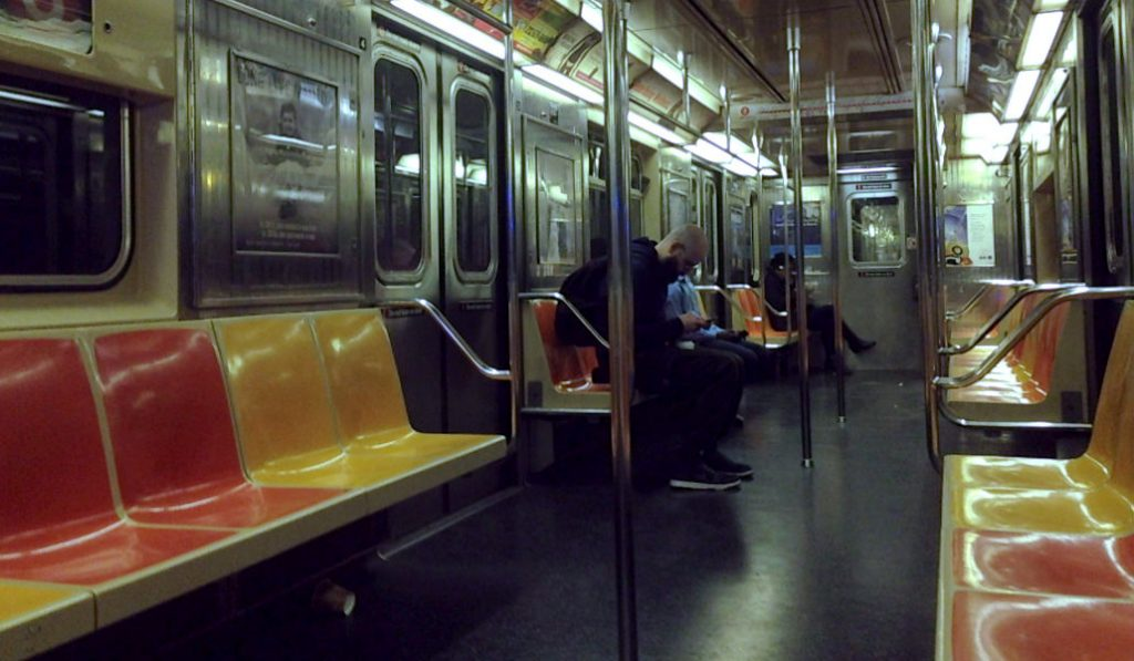 MTA solution for overcrowding: Removing Seats on the Subway