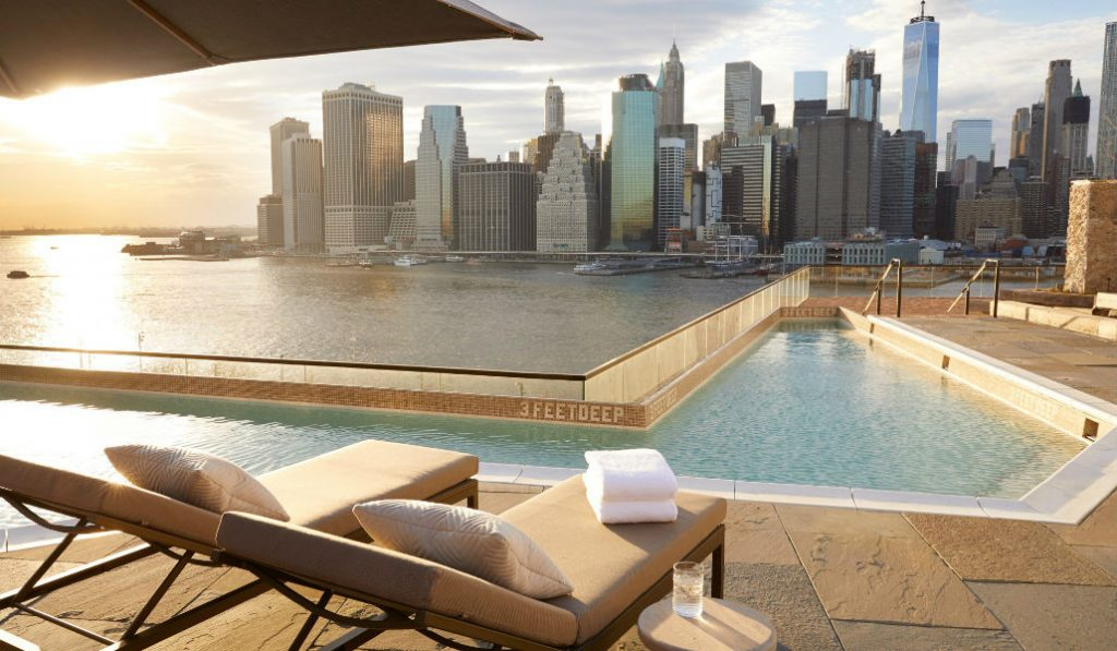 A Beautiful New Rooftop Pool in Brooklyn Opens to the Public on Saturday