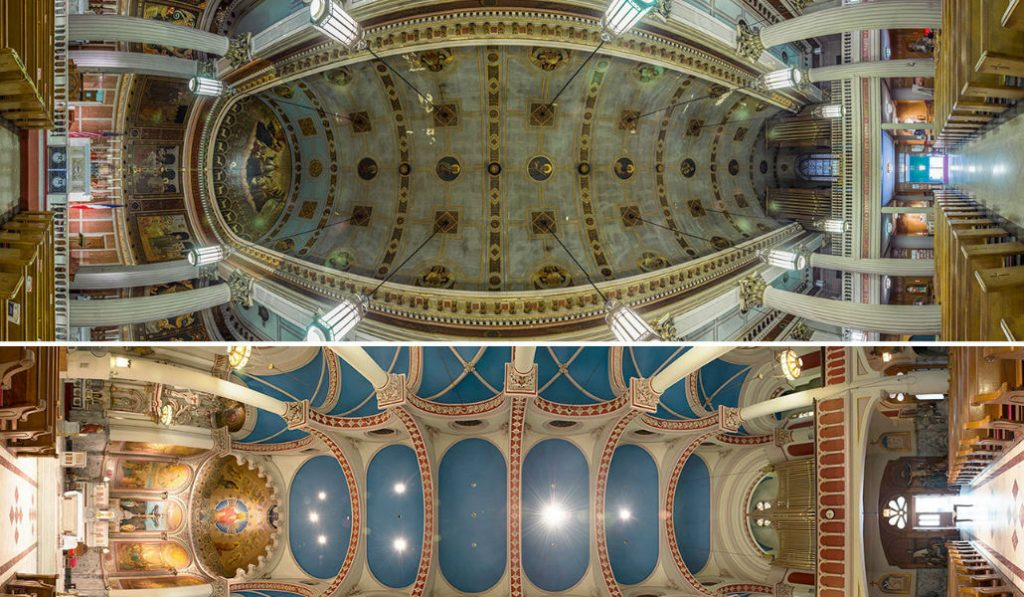 These Vertical Panoramas of NYC Churches Will Leave you Speechless