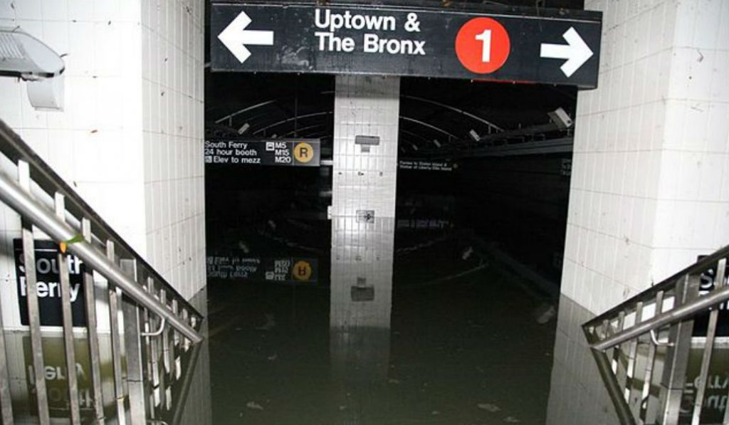 NYC Could soon see Hurricane Sandy level Flooding Twice a Month