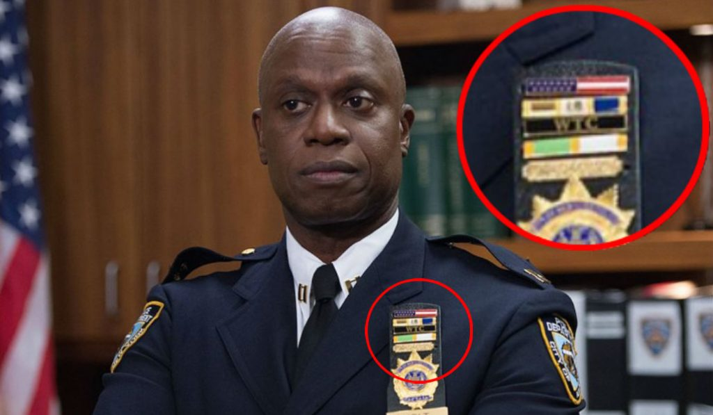 """What Cpt. Holt's medals (TV's """"Brooklyn 99"""") are awarded for in real life"""