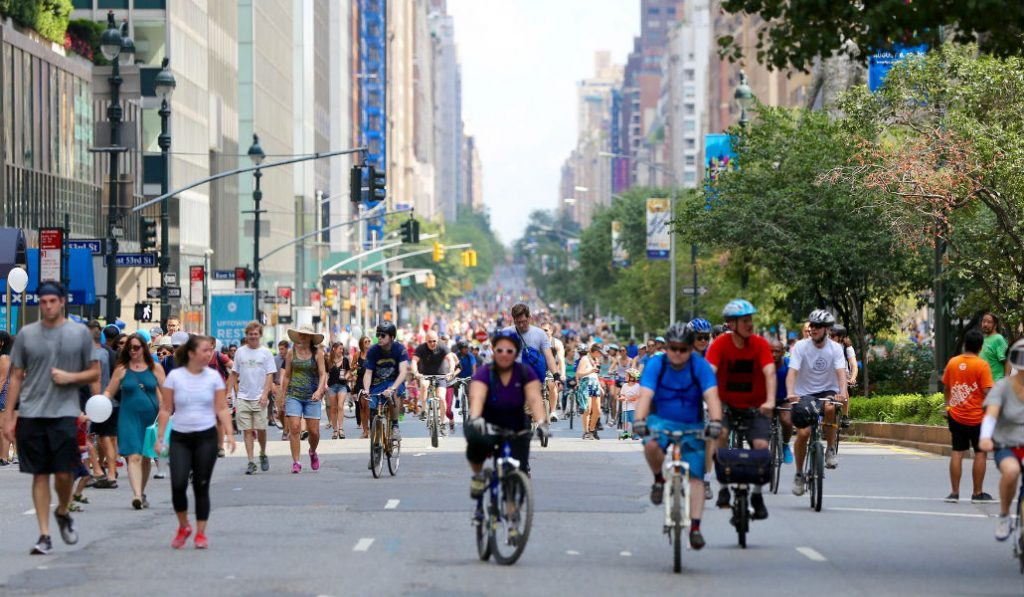 """""""Summer Streets"""" is back with an inflatable Water Park and zipline"""