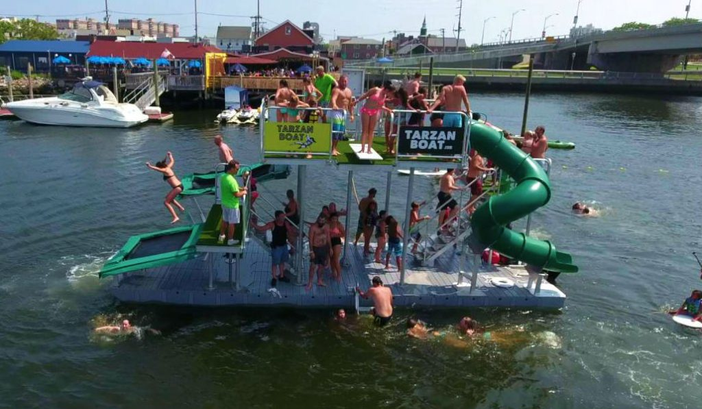 NYC just got a Floating pop-up Water Park… and it looks Awesome!