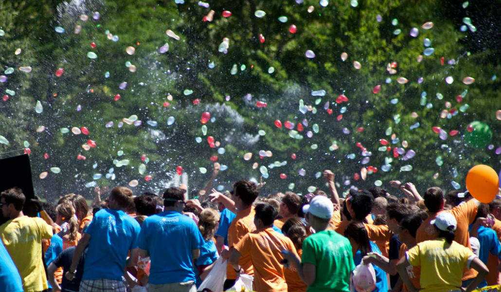 Largest Water Balloon Fight