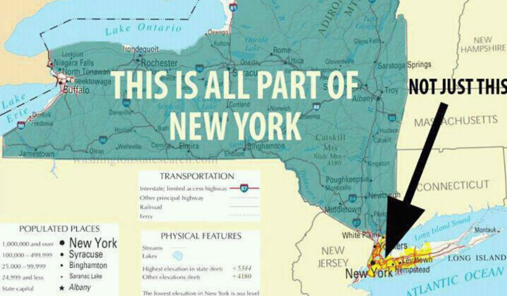 What upstate NYers say about NYC behind our back