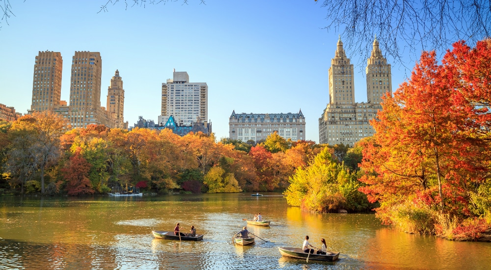 Report Shows Where To Catch New York's Most Dramatic Autumn Colors