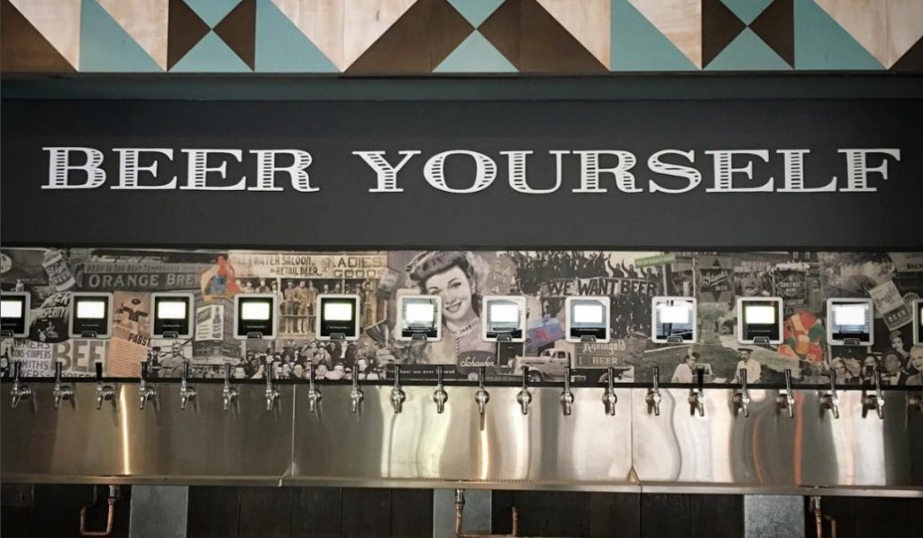 Dumbo's First Brewpub Opens Today With a 'Beer ATM'