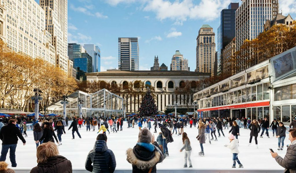 The Winter Village at Bryant Park Opens Next Week