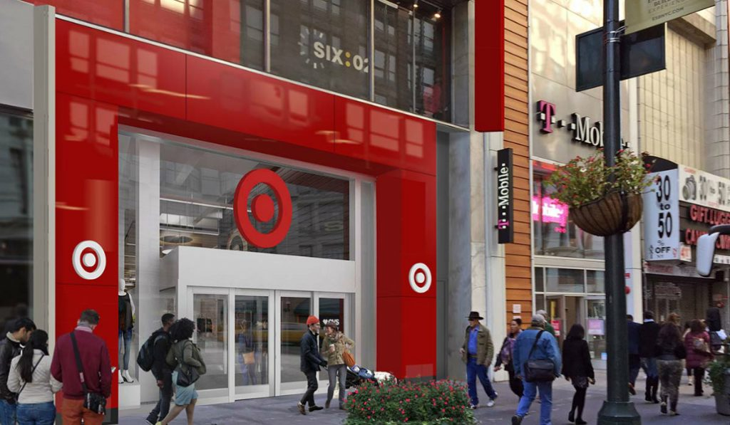 Anticipated Two-Level Target Opens in Herald Square This Week