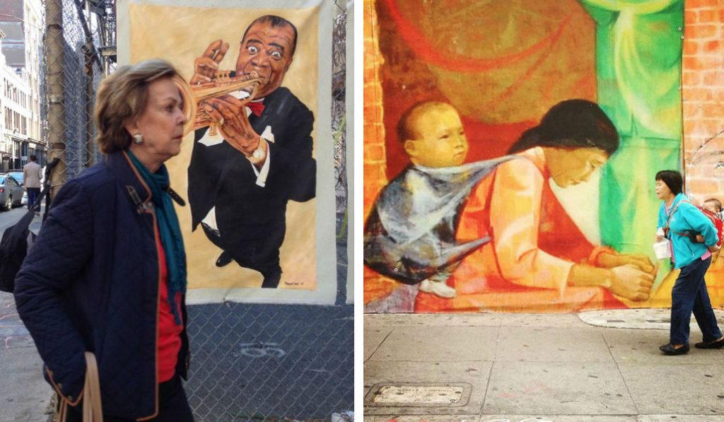 Perfectly-Timed Photos Show of Life on the Streets of NYC