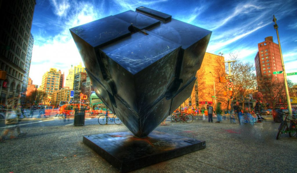 Don't Miss the 50th-Birthday Party for the Astor Place Cube