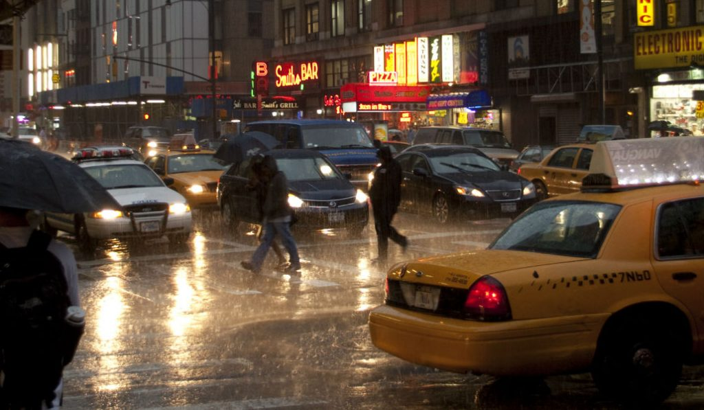 Heavy Rain and Wind in NYC Today – Remnants of Hurricane Nate