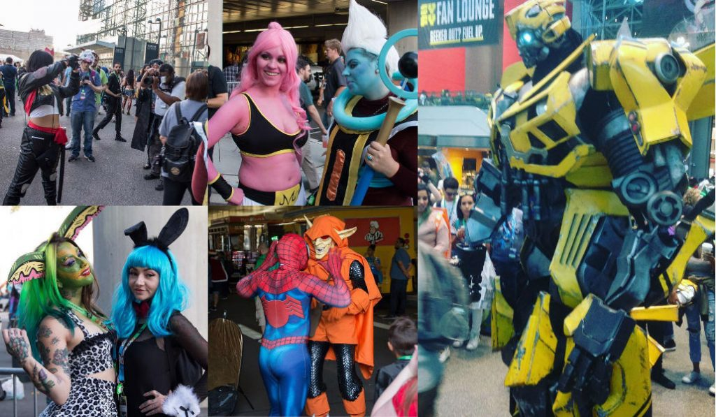 NY Comic Con's Most Mind-Blowing Cosplays in Pictures and Videos