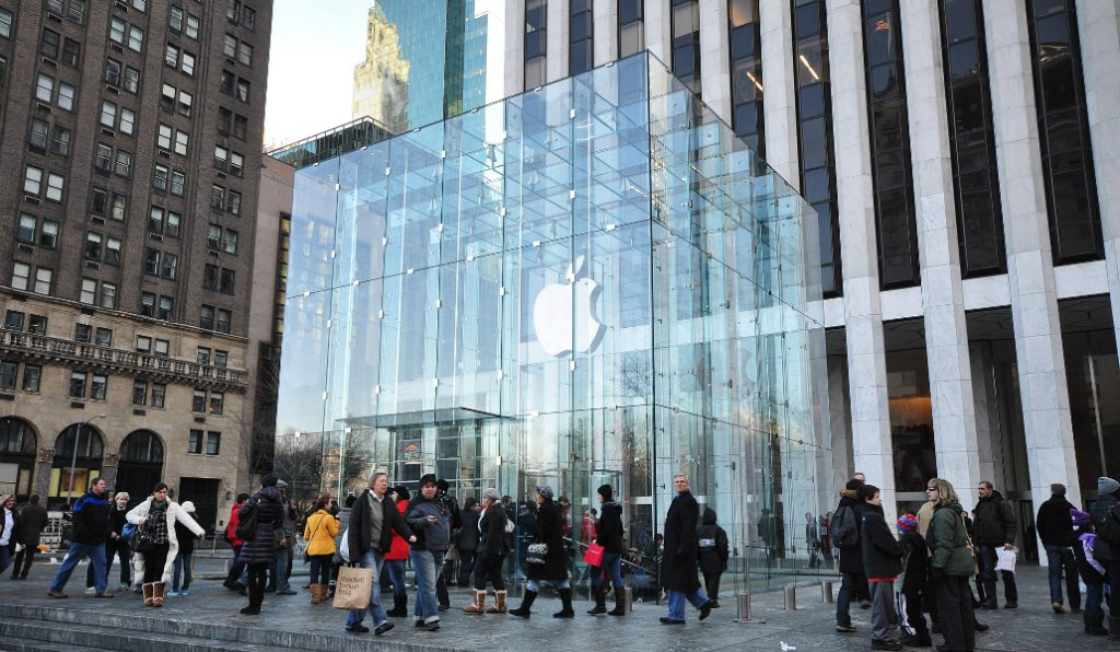 The Glass Cube's Fate at Apple Flagship Store on Fifth