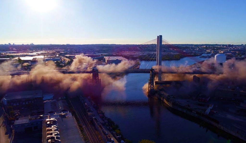 Miss the Old Kosciuszko Bridge Being Blown Up? Watch it Here