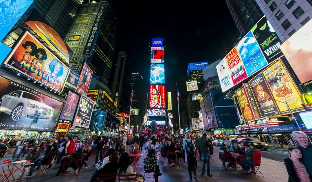 A Free 3-Night Festival with 3-D Projections Coming to Times Square