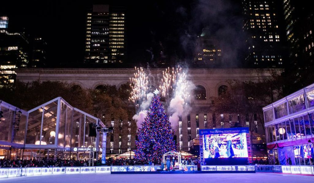 One Night Only After-Hours Skating at Bryant Park's Winter Village