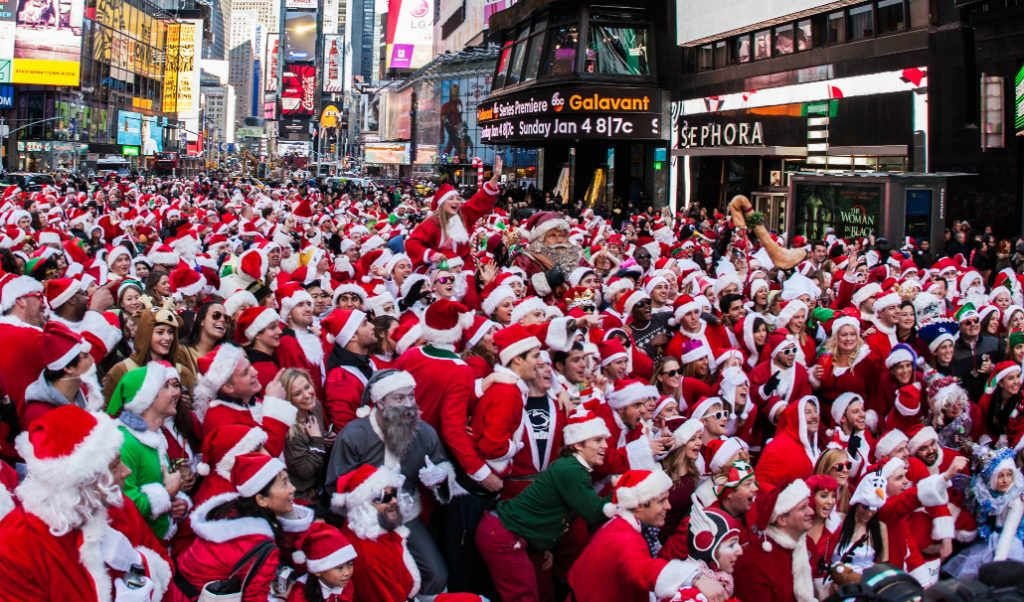 SantaCon Is Back This Weekend! Here's What You Need To Know