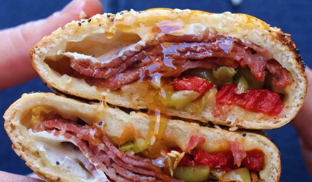 The Stromboli Bagel Sandwich is NYC's New Foodie Obsession