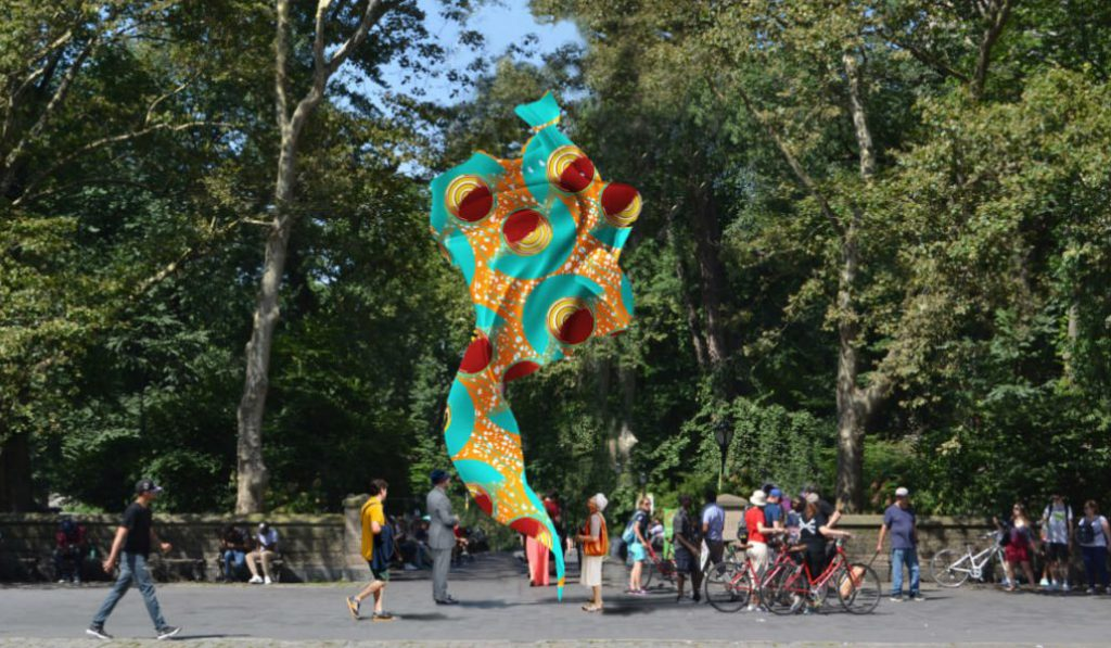 """A Colorful Billowing """"Wind Sculpture"""" is Coming to Central Park"""