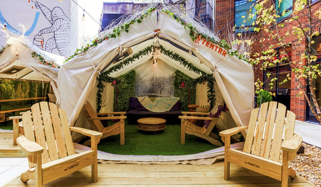 These Secret Tents in NYC are Serving Boozy Hot Cocoa and S'mores