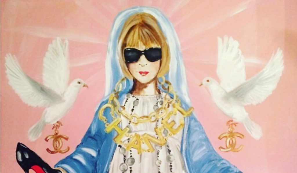 Pop Art Makes a Statement at Bergdorf Goodman's Bold New Ashley Longshore Art Exhibit