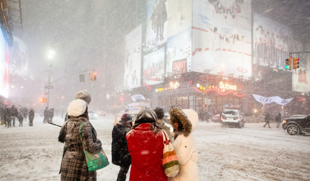The NYC Department of Sanitation Issued a Snow Alert for This Morning
