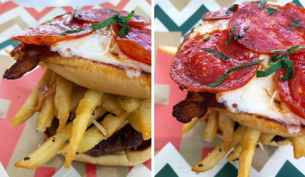Clinton Hall's Pizza Burger: Travesty or Treat?