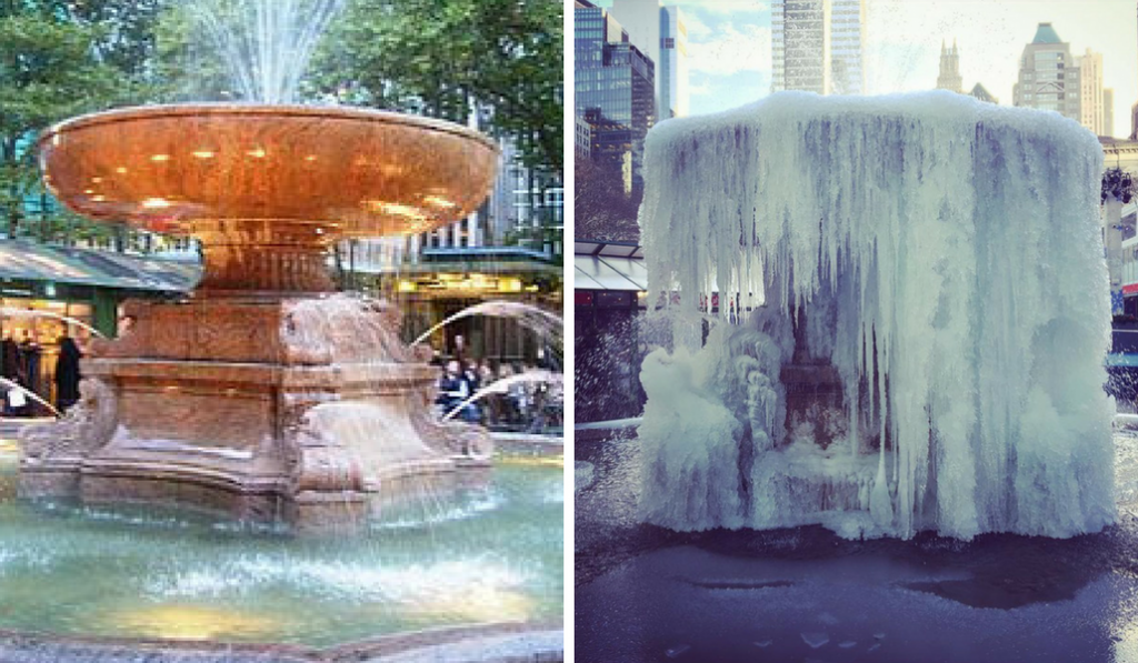 10 Breathtaking Images Of A Frozen New York City