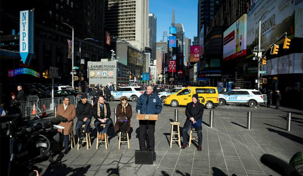 NYC to Begin Installation of 1,500 Security Barriers for Pedestrian Safety