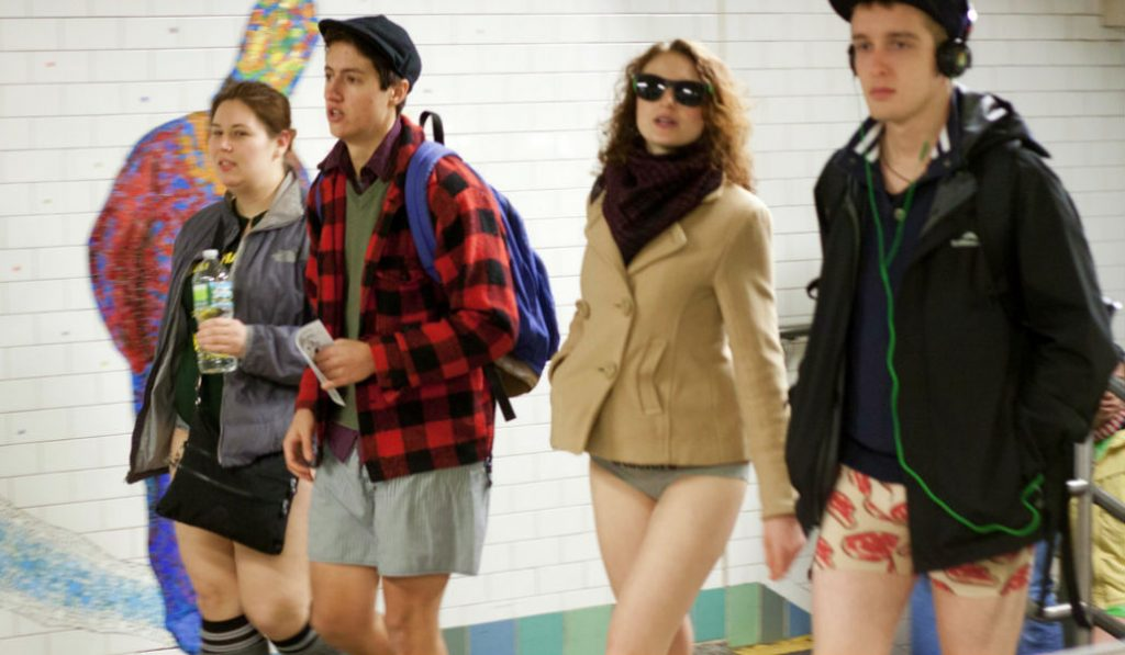 """NYC's """"No Pants Subway Ride"""" is Back This Weekend"""
