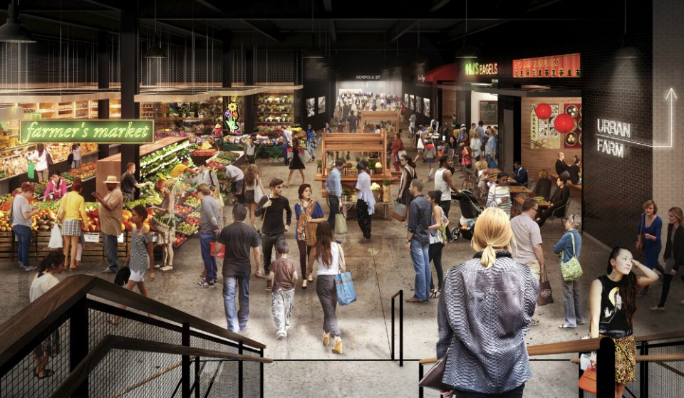 Massive Market Line Food Hall Is Now Open At Essex Crossing In Lower East Side