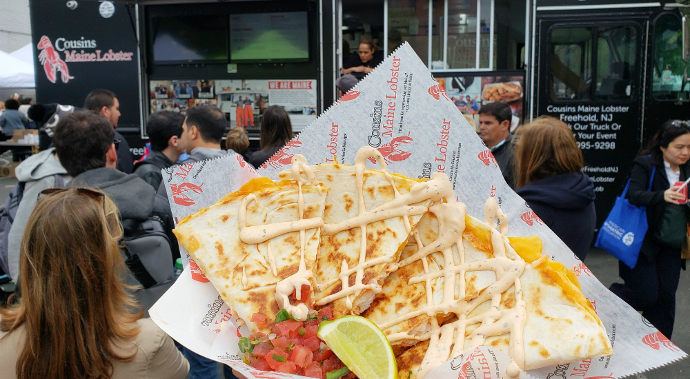 NYC's Mouth-Watering Food Truck Festival Returns Next Month