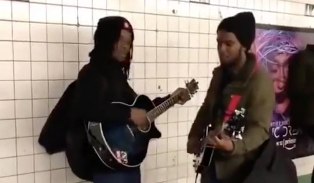 Listen to Subway Buskers That Sound Eerily like the Beatles at Union Square