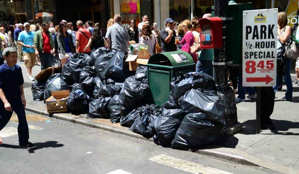 NYC is the Dirtiest City in the Country, Study Says