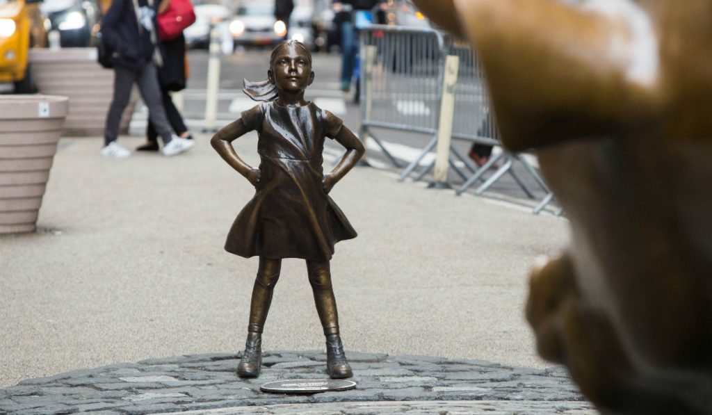 Fearless Girl may be Relocated, but will Remain Permanently in NYC