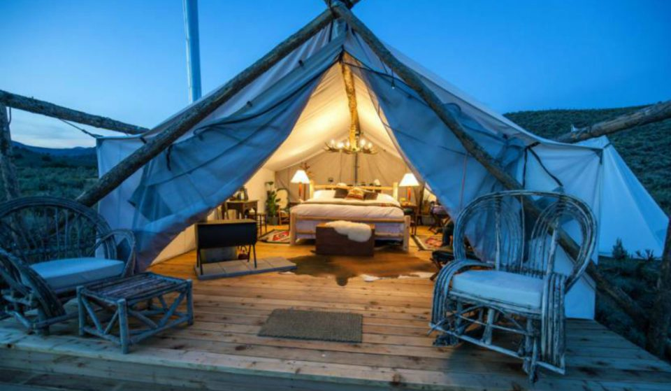 For the First Time Ever, Camp Under the Stars on Governors Island