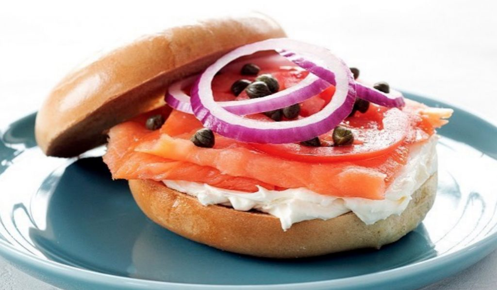 Eat the World's Largest Bagel & Lox Sandwich This Friday in Brooklyn!