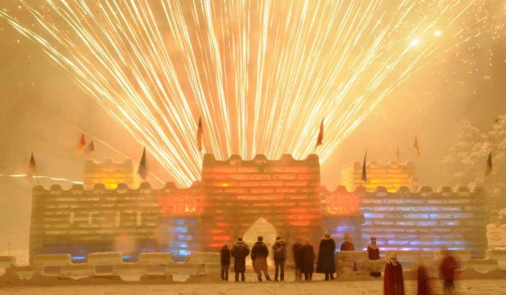 Stunning Ice Palace in Saranac Lake Opens Today to the Public
