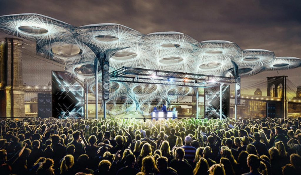 An Epic Rooftop Music Venue is Coming to the Seaport District This Summer