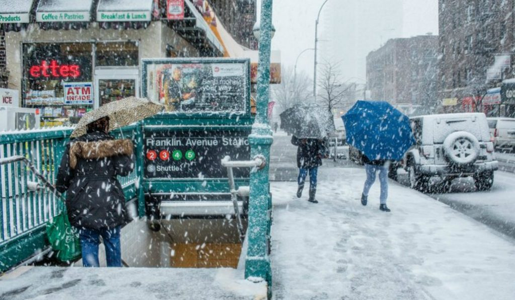 Spring Storm To Bring Up To 15 Inches of Snow To NYC