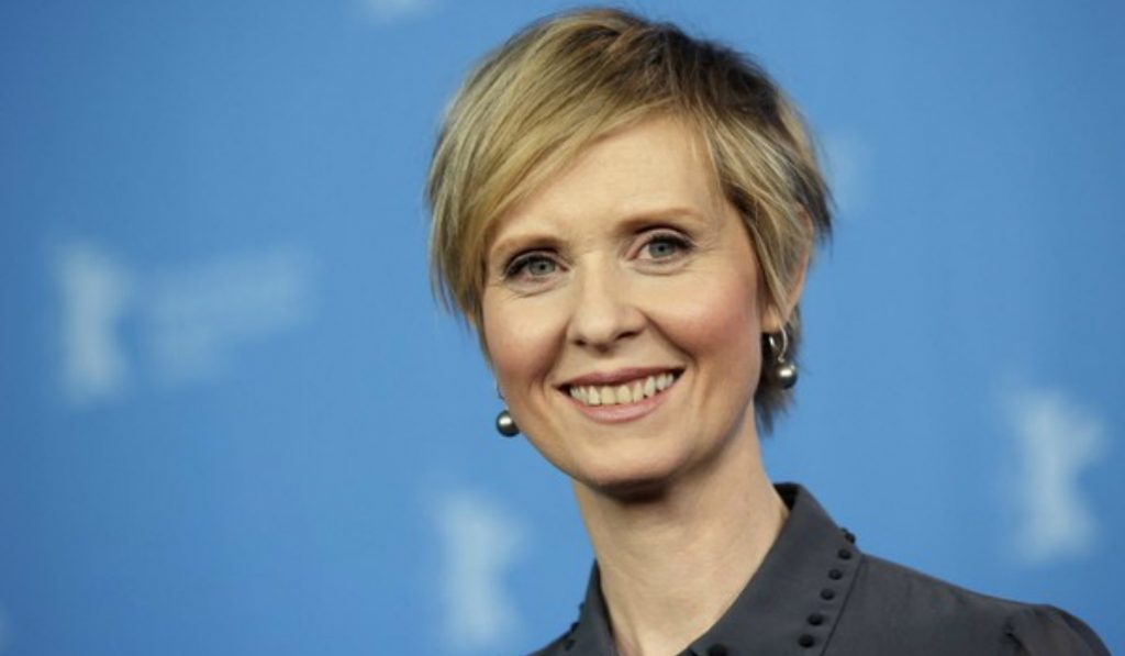 Cynthia Nixon Announces Candidacy for NYS Governor