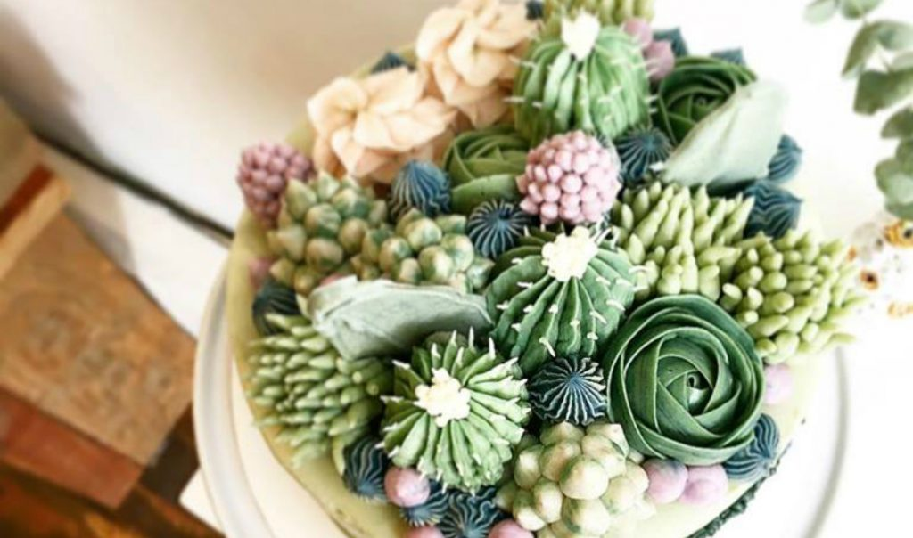 This NYC Bakery Makes Hyper-Realistic Cacti Cupcakes