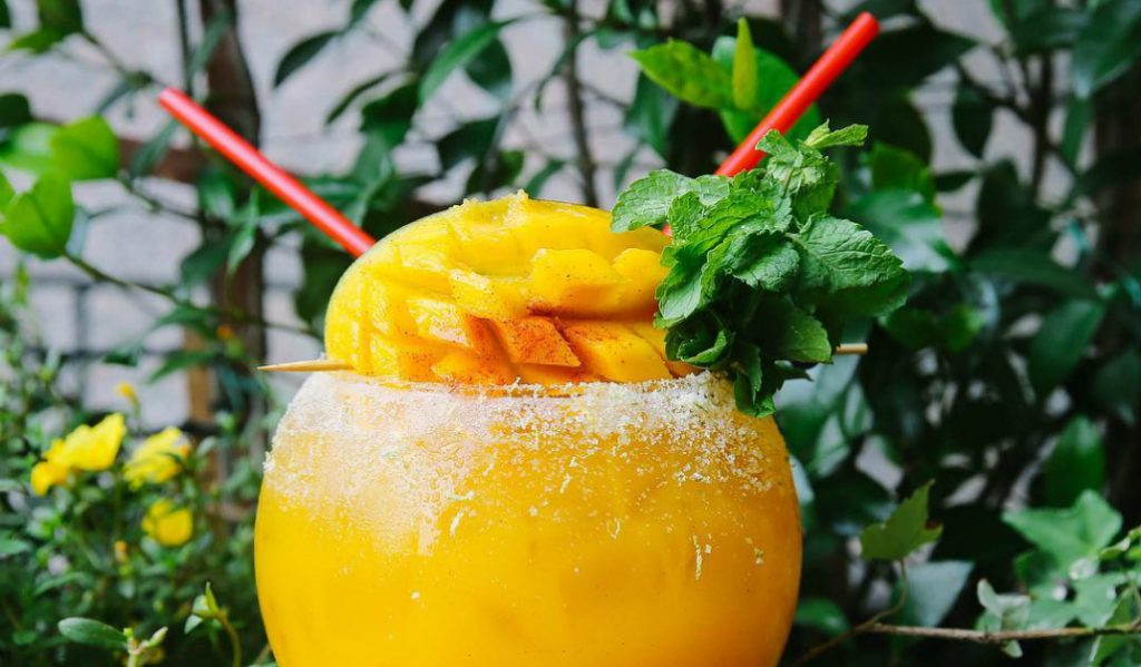 These Massive Cocktails by the Water Have us Antsy For Warmer Days!