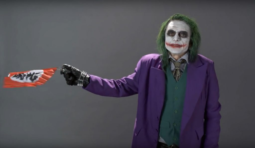 Watch Tommy Wiseau's Terrifying Audition Tape For The Joker