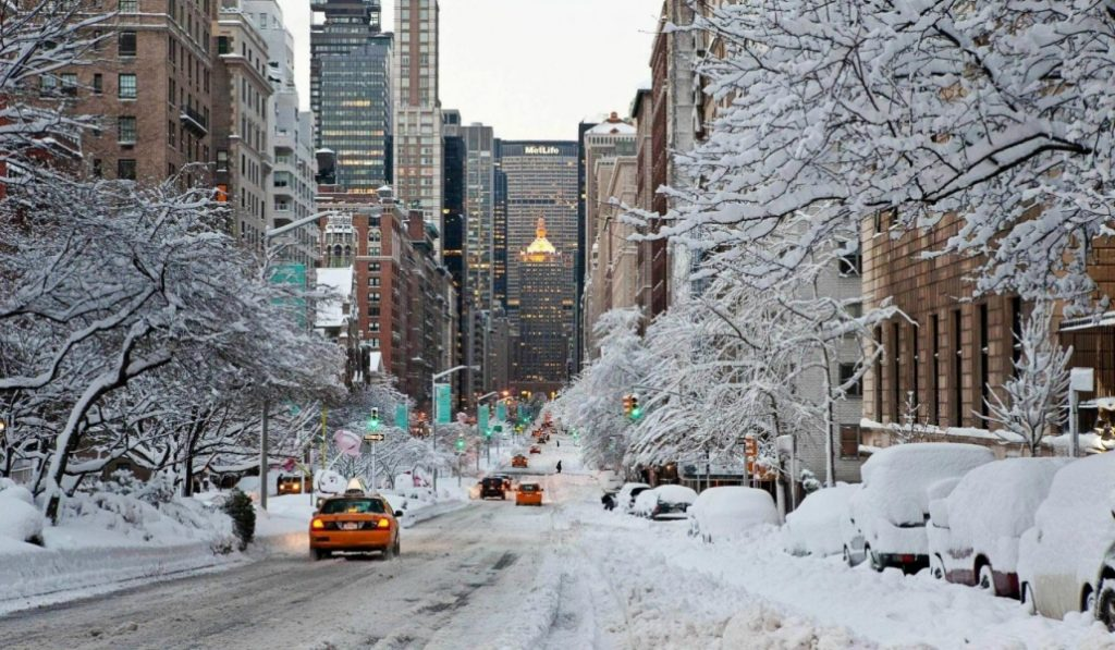 Another Nor'easter Set to Hit NYC Tonight
